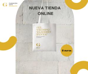 Nueva tienda online Fundación Goya en Aragón